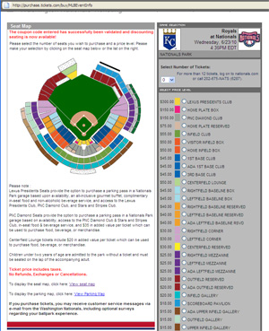 Tickets for Stasburg's 3rd Nationals Park start still available