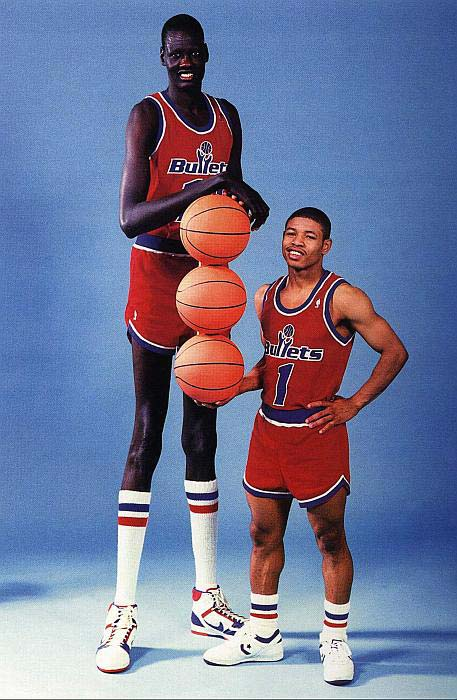 Greatest photo in Washington Bullets history