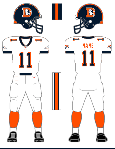 How W.F. Yurasko would fix the Denver Broncos uniforms