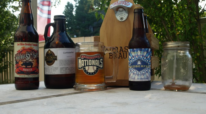 Northern Virginia Oktoberfest beers
