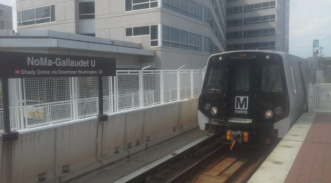 New WMATA 7000 series Metro train