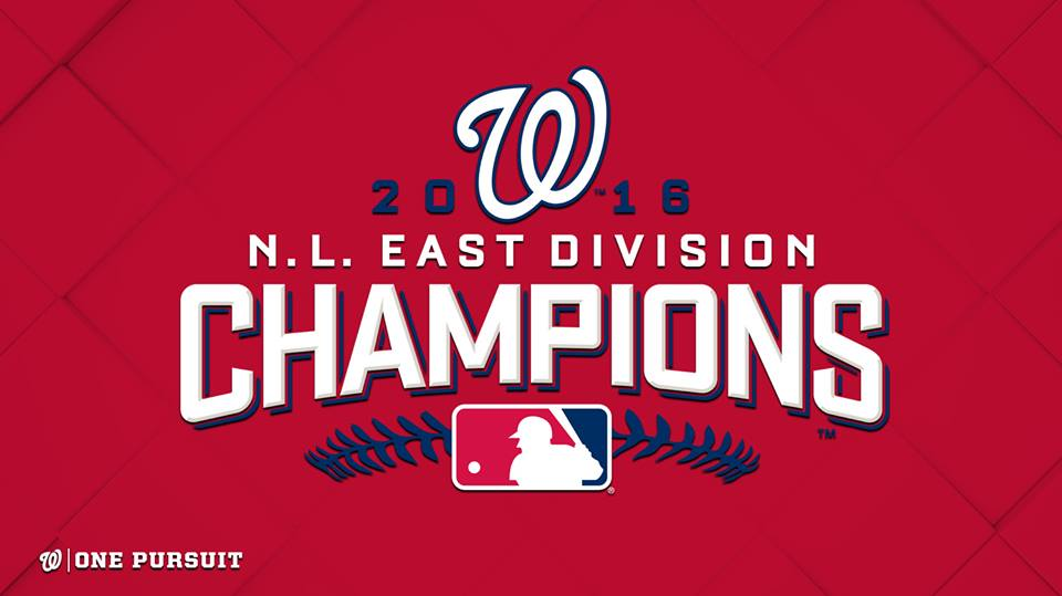 Washington Nationals, 2016 NL East Champions banner