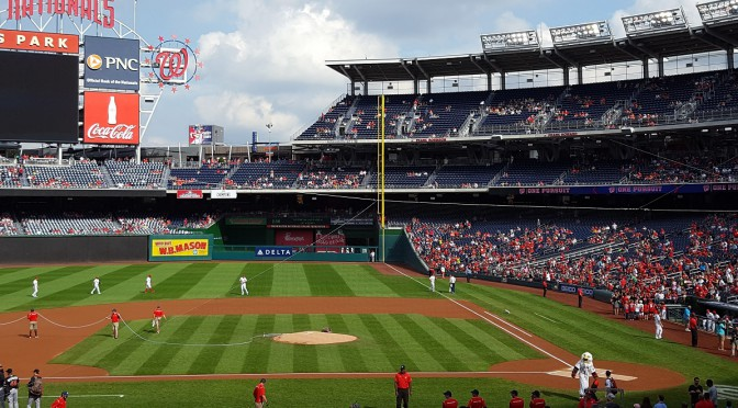 Nationals Park, from section 117