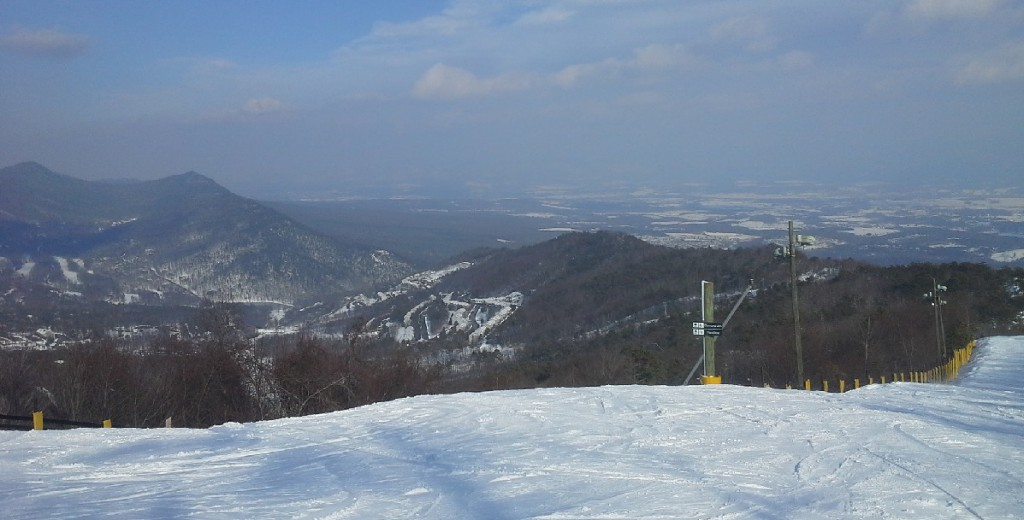 Massanutten Mountain, featured in the 2017 Mid-Atlantic Skiing preview