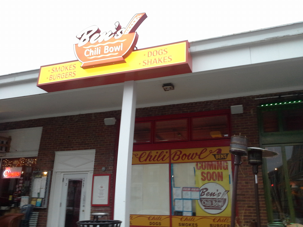 """Ben's Chili Bowl, Rosslyn, Arlington, Va."""