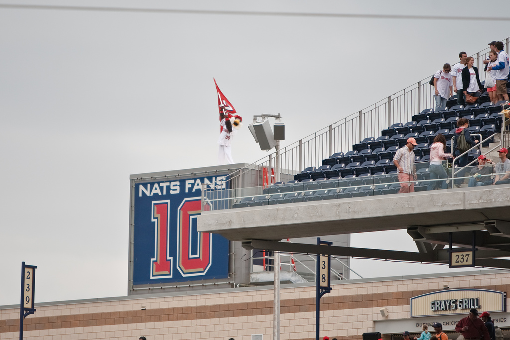 Nats Fans 10 by Cathy T used under Attribution 2.0 Generic Creative Commons