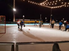 Capital Broomball, District Wharf