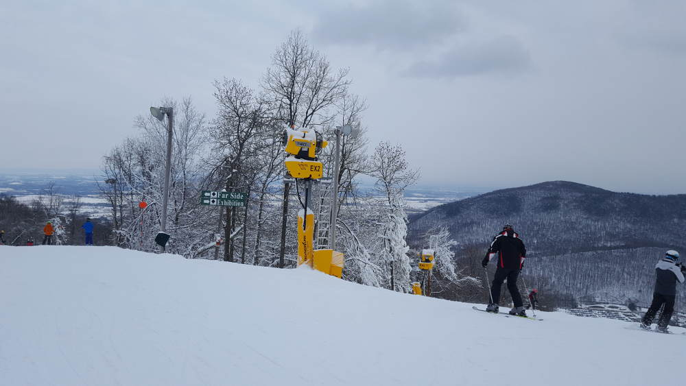 Whitetail, from the top of the black diamond lift