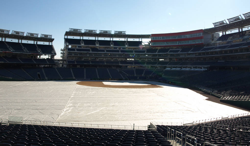 Nationals Park in Winter