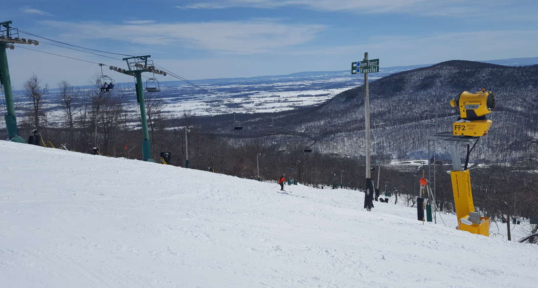 SKIING: MARCH 22, 2018 WHITETAIL RECAP