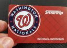 WMATA will not be selling Washington Nationals SmarTrip cards to Metro patrons in 2018