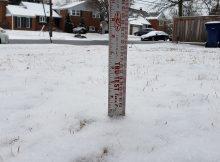 Alexandria, Va. snowfall total for February 1, 2019