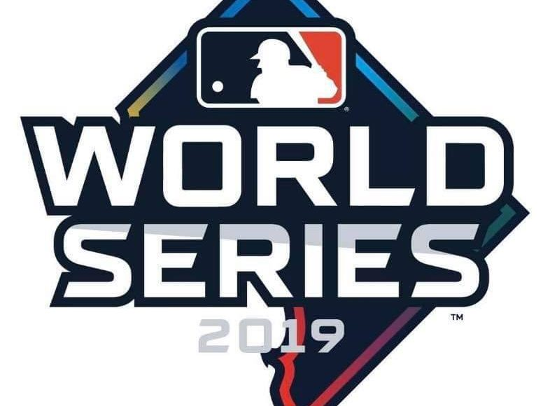 World Series logo, but for Washington, D.C. I didnt' come up with it, someone on Reddit posted it apparently
