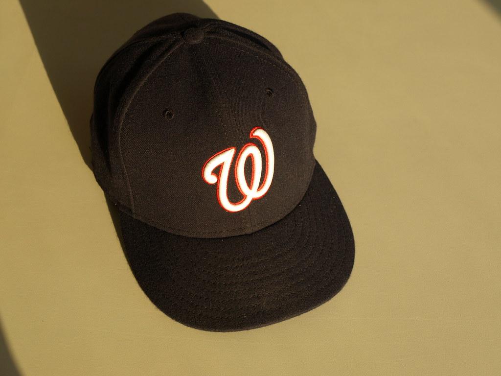 2005-2010 Washington Nationals road cap