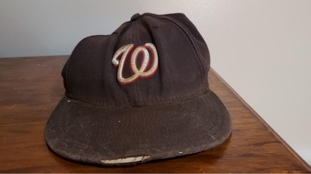 Washington Nationals road cap, originally purchased in 2004